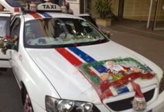 Christmas taxi b