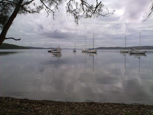 Lake Macquarie. 18112010594